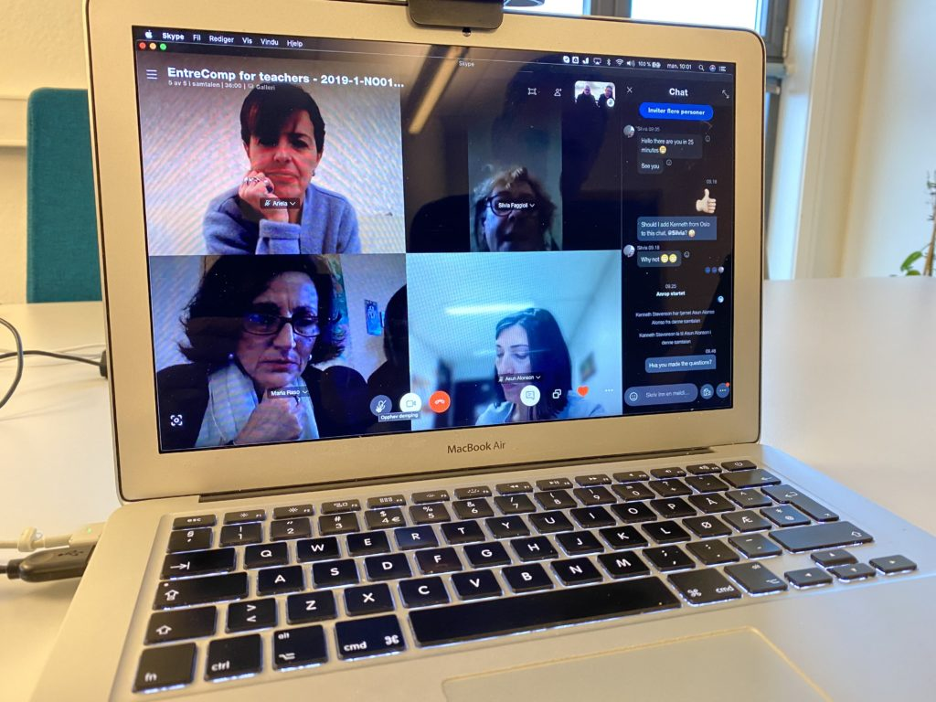 Skype meeting